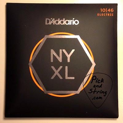 สายกีตาร์ D'Addario NYXL Nickel Wound Regular Light (เบอร์ 10)