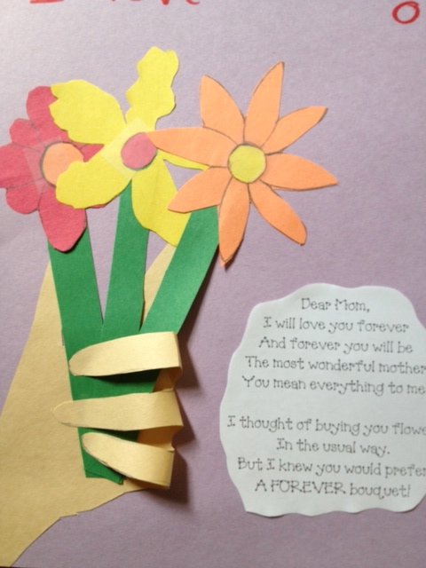 preschool crafts for kids mother 39 s day flowers with hand