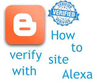how to verify a site with alexa