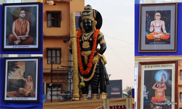 Udupi Paryaya 2016-18 Pura Pravesha Pejawara Swami 28