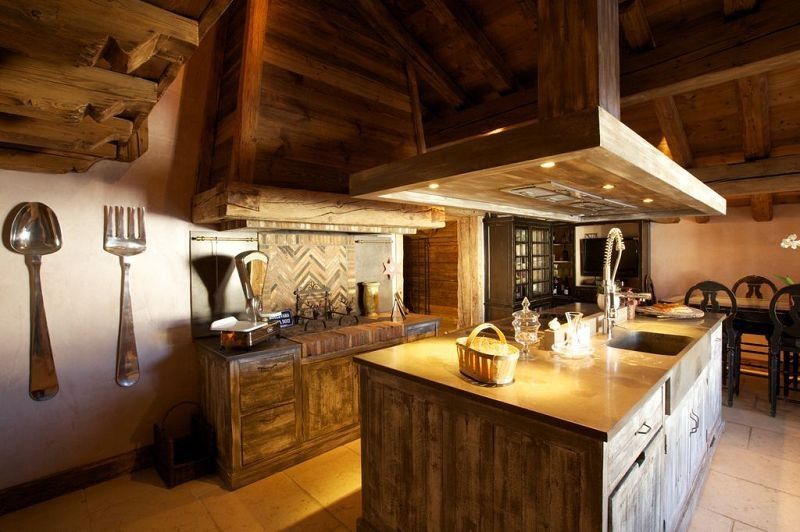 Cuisine chalet montagne a fully equipped kitchen clubmed for Cuisine chalet moderne