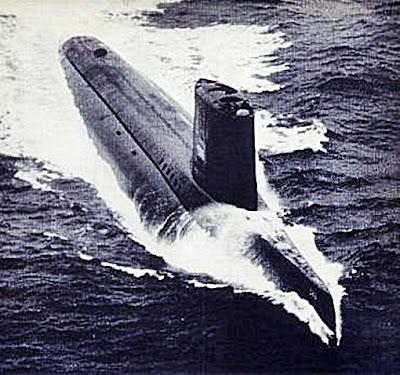 USS Triton submarine SSRN/SSN-586