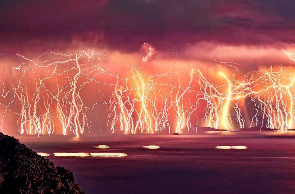 Ikaria, Greece - 7 Epic Displays Of Lightning