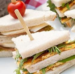 Tea Sandwich Chicken Cranberry - Yummi Recipes