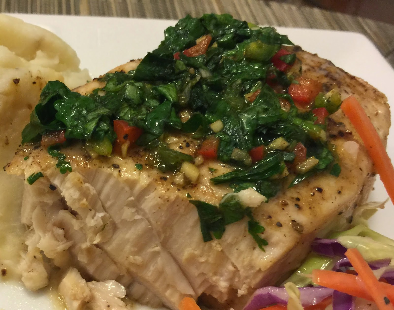 Taste of hawaii grilled striped marlin for Marlin fish recipes