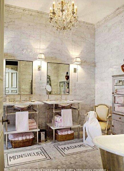 Ideas Para Decorar Mi Baño:Luxury French Bathroom