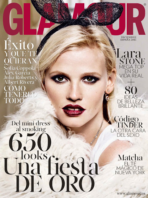 Actress, Model, @ Lara Stone by Alique for Glamour Spain December 2015