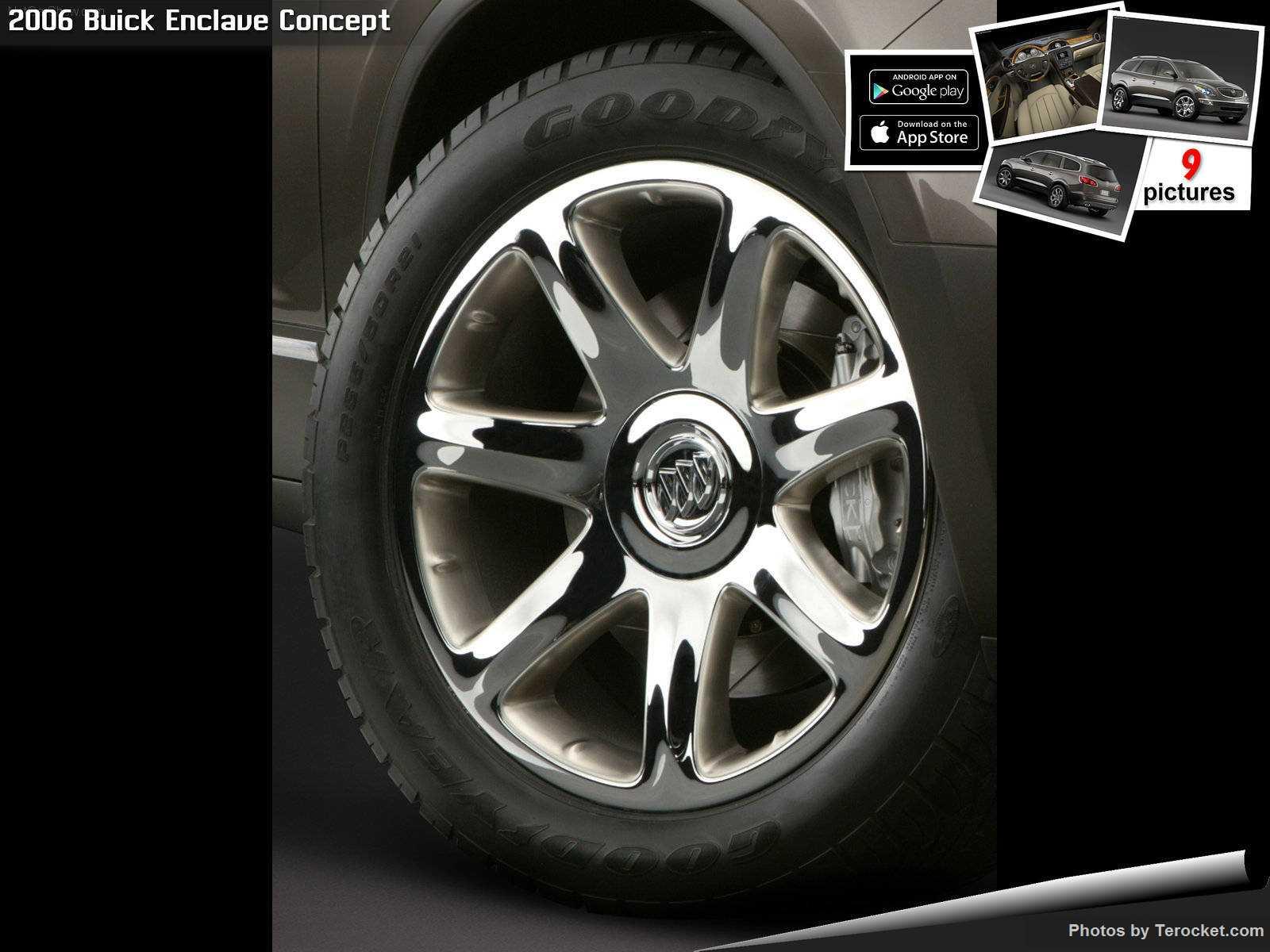 Hình ảnh xe ô tô Buick Enclave Concept 2006 & nội ngoại thất