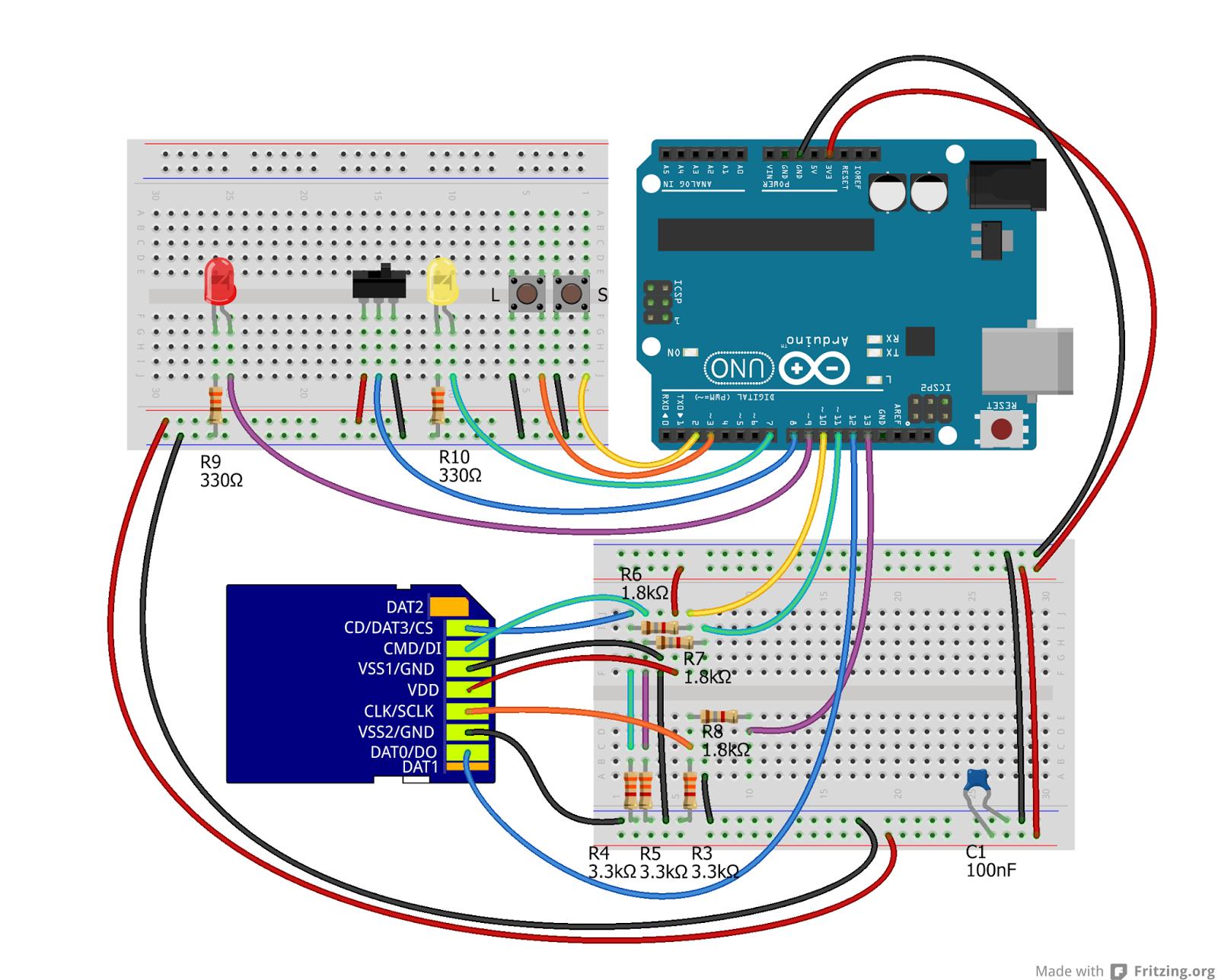 Estremamente Daniele Alberti, Arduino 's blog: Arduino: scrivere e leggere una  KU44