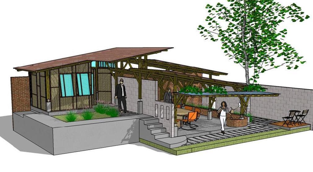 ... bambu rumah desain berbahan Murah Rumah Desain Terbaru Minimalis Desain Bambu Rumah ...