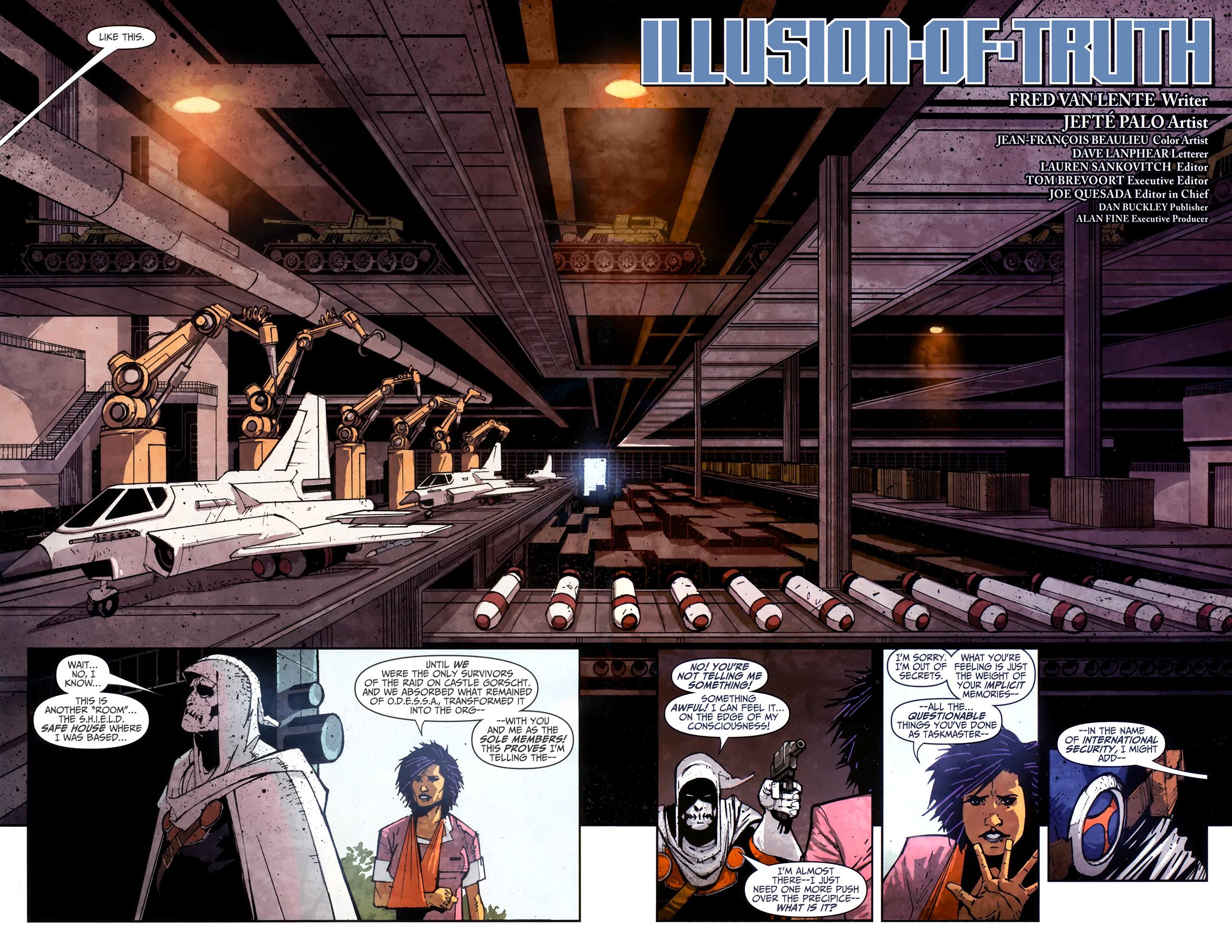 Read online Taskmaster (2010) comic -  Issue #4 - 6