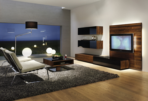 Modern rooms LCD TV cabinets furnitures designs ideas. | An ...