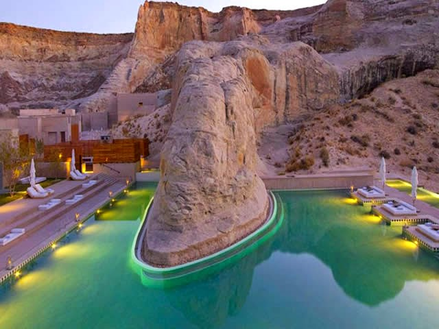 Amangiri Resort - Utah e Arizona - Resort de luxo no Grand Canyon