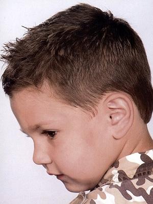 hair ink boys short straight hair