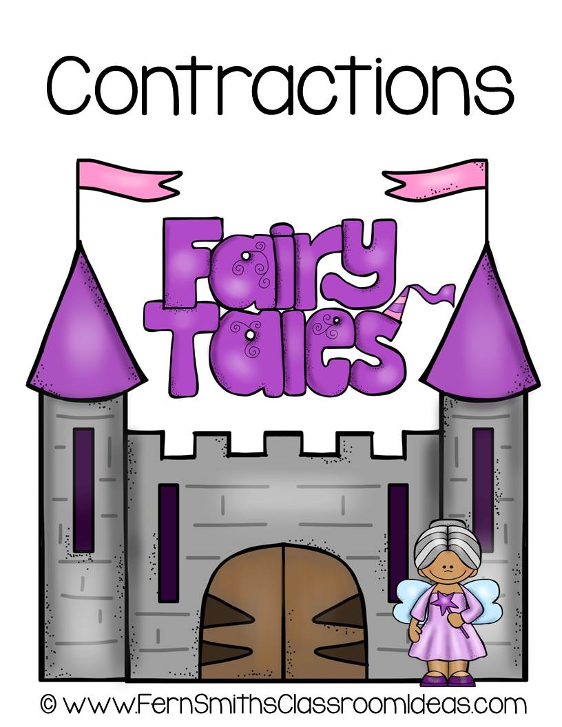 Fern Smith's Classroom Ideas Contractions Center Game