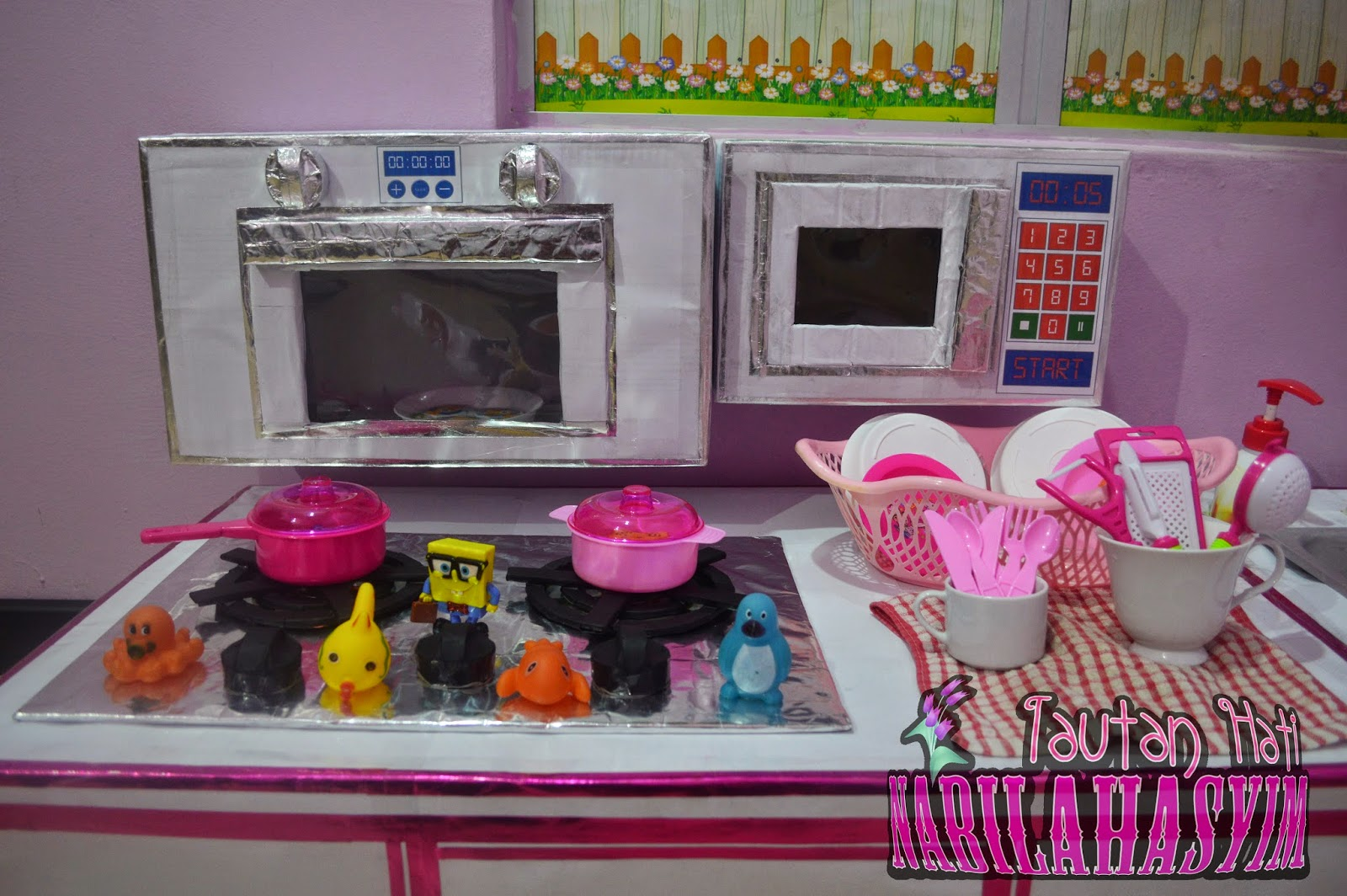 tautan hati nabilahasyim d i y set kabinet dapur untuk