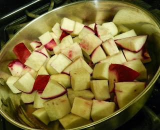 Karl's Farm: Maple Glazed Turnips in a Mizuna Nest