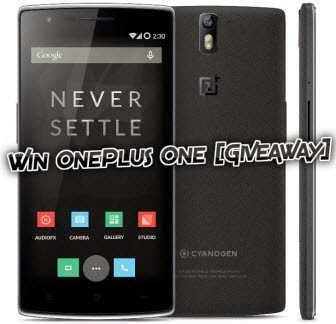 OnePlus One Giveaway