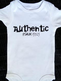Psalm 139:23 Bodysuit Onesie Scripture Screenprinted for Babies by HelensCorner