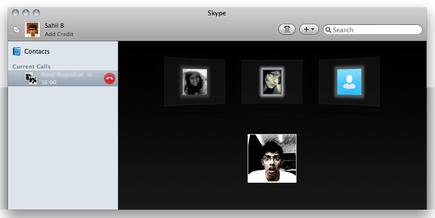 So many people, so many countries, and one Skype window.