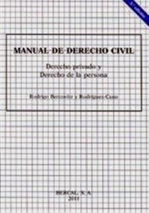 Manuales de Derecho: Manual de Derecho Civil, Privado y Derecho de la Persona.