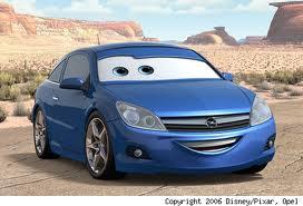 opel astra pixar cars