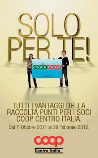 Raccolta Punti Coop 2011 2012: Solo per te!
