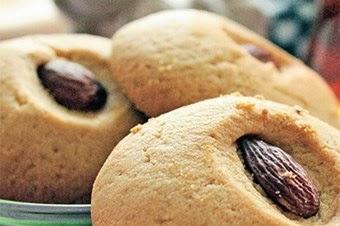Bademli kurabiye tarifi Kolay Yapımı