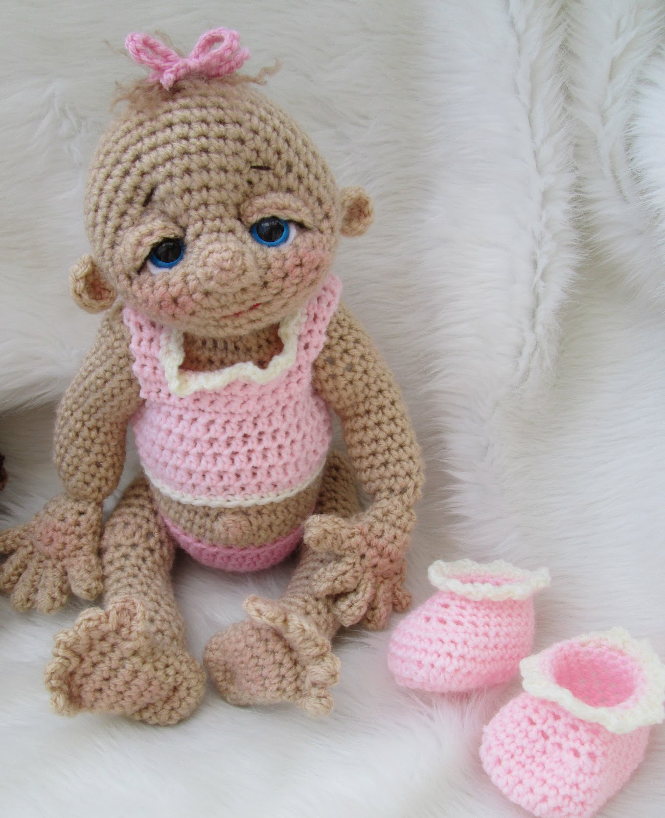 Crochet Doll Pattern Cute : Wool and Whims: So Cute Baby Doll Has Arrived