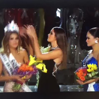 مقدم حفل ملكة جمال الكون 2015     Steve Harvey يخطئ باسم الفائزة  Miss World