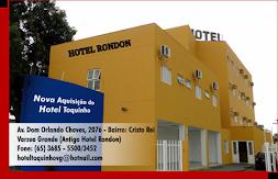 HOTEL TOQUINHO EM JACIARA E VARZEA GRANDE- MT