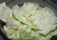 a simple way of stir frying cabbage Chinese recipe