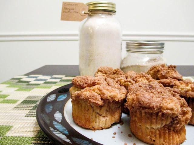 Gluten Free Cinnamon Streusel Muffin Mix