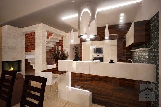 Marcoot Design Nowoczesne Wnętrza Drewno W Kuchni