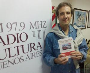 2012: ENTREVISTADO en RADIO DIEZ y en FM CULTURA