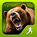 Survival Run With Bear Grylls Icon Logo