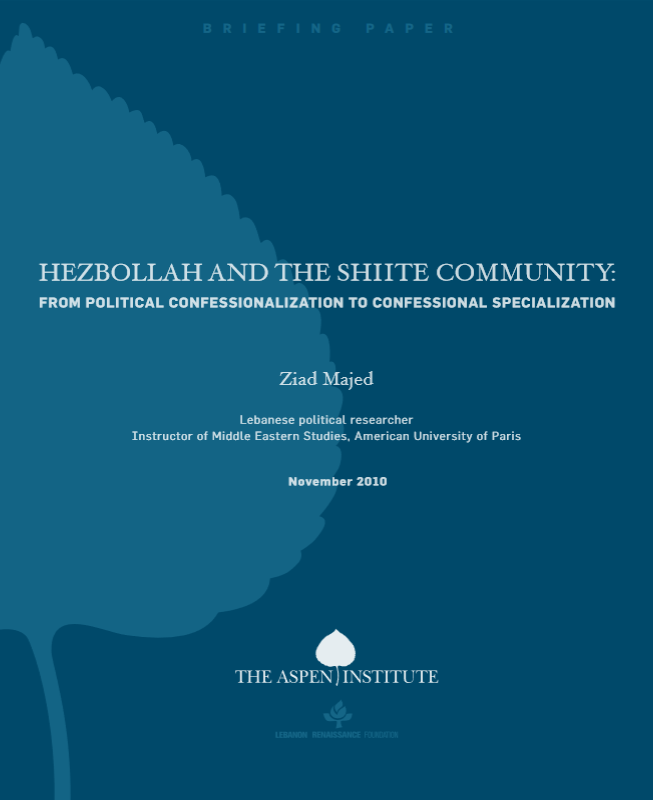 Hezbollah and the Lebanese Shiite Community