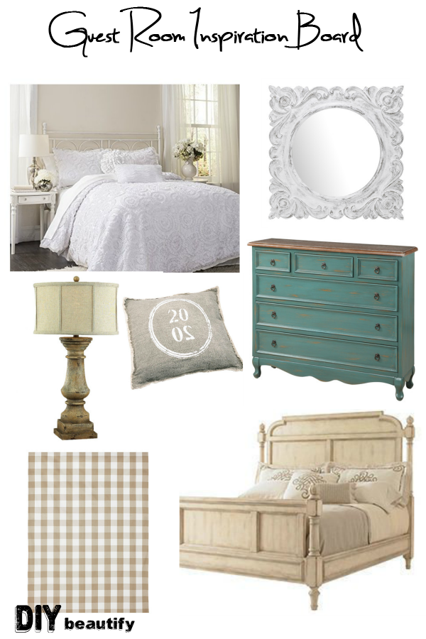 See this Guest Room Transformation week by week! Part of One Room Challenge #ORC | DIY beautify