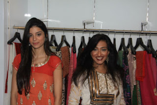 Rituparna Sengupta &amp; Giselle Monteiro Unveils Jhoomar ~ The Fashion boutique in Kolkata