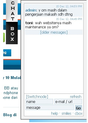 tutorial blog,chat box,buku tamu,widget blog
