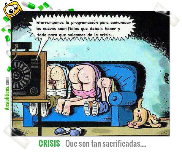 Chiste de Sacrificios por la Crisis