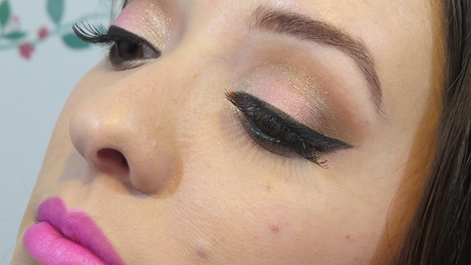 Maquiagem Usando Trio de Sombras Neapolitan Mary Kay
