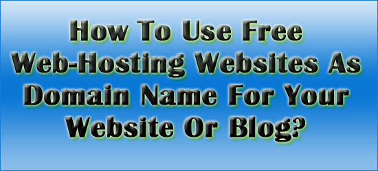Free websites and hosting with domain names 2014