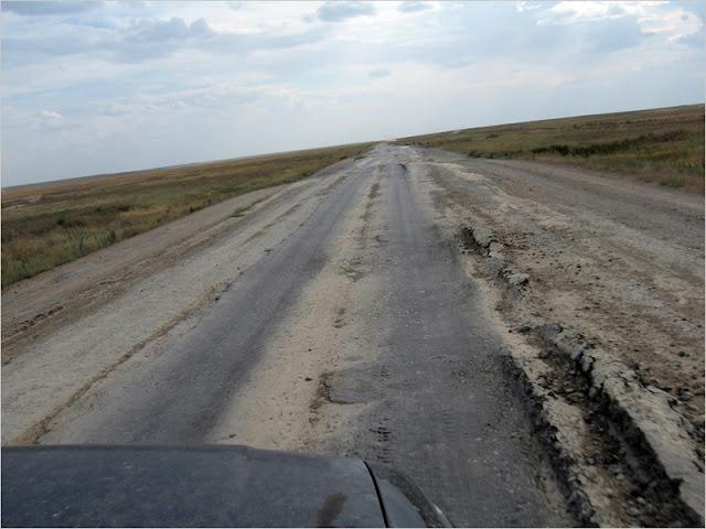Kazaxstan, doroga.