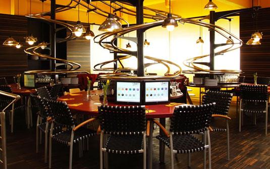 Restaurante-futurista