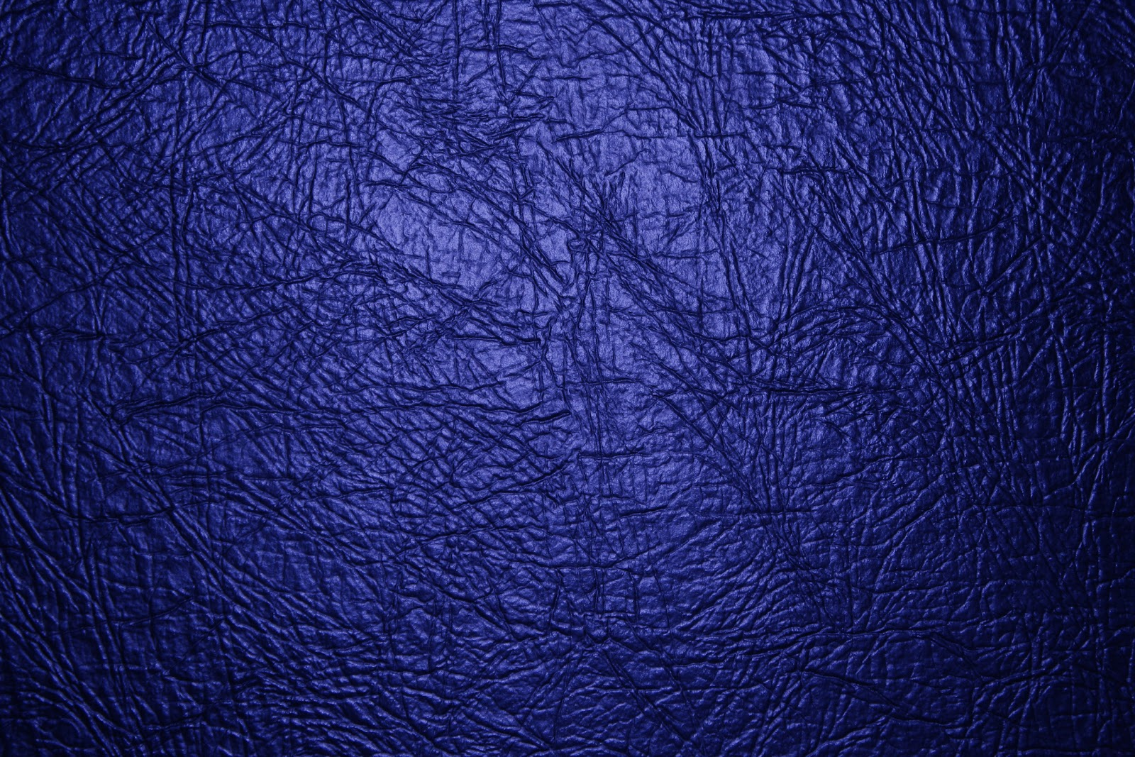Blue leather Texture Wallpaper