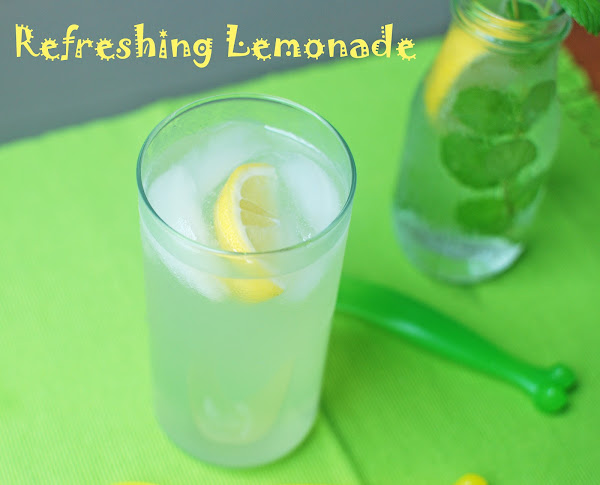 Lemonade with Lemon Syrup