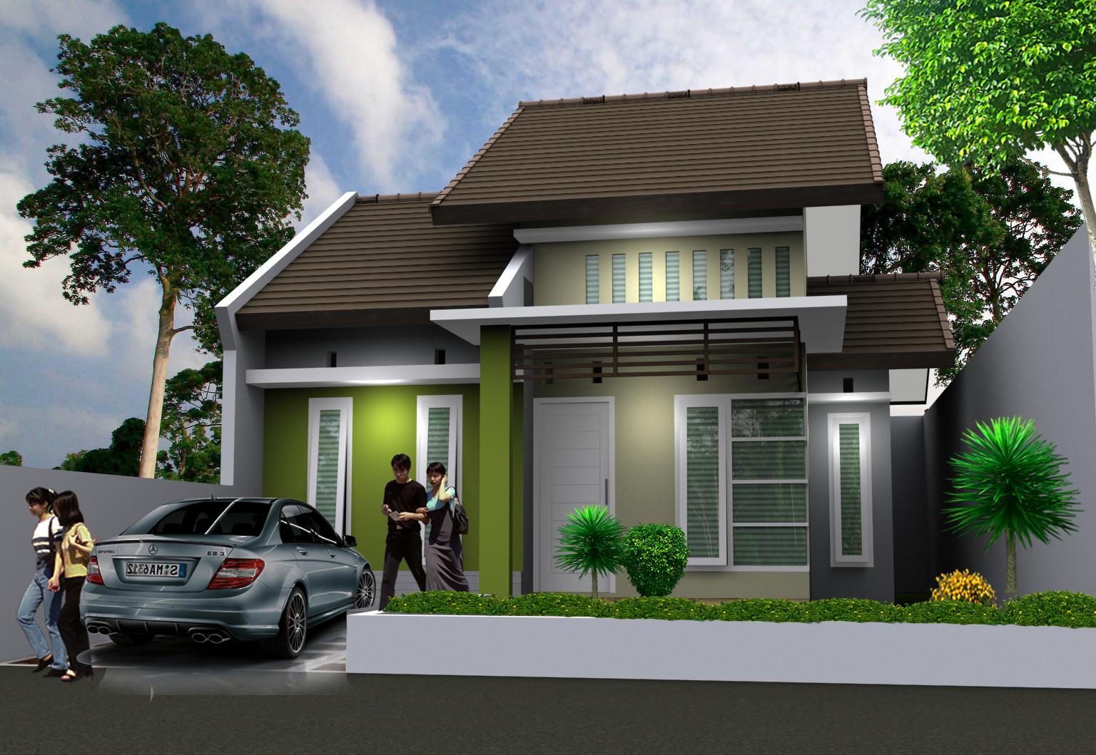 Contoh Desain Rumah Minimalis Type 45