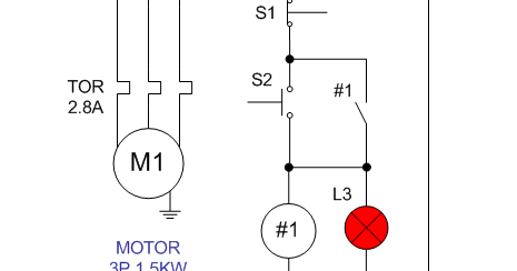wiring diagram single motor with start stop switch electrostudy