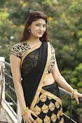 Sagarika glamorous photos in saree-thumbnail-2